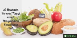 10 Makanan Berserat Tinggi untuk Menyehatkan Pencernaan Anda