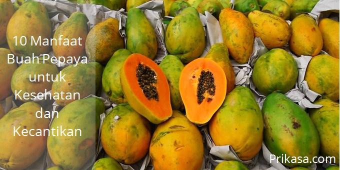 Ilustrasi manfaat buah pepaya