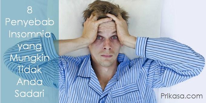 Ilustrasi penyebab insomnia