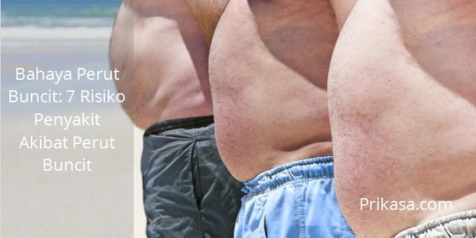 Ilustrasi bahaya perut buncit