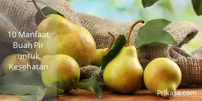 Ilustrasi manfaat buah pir