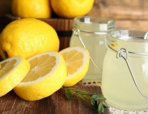 Ilustrasi jus lemon