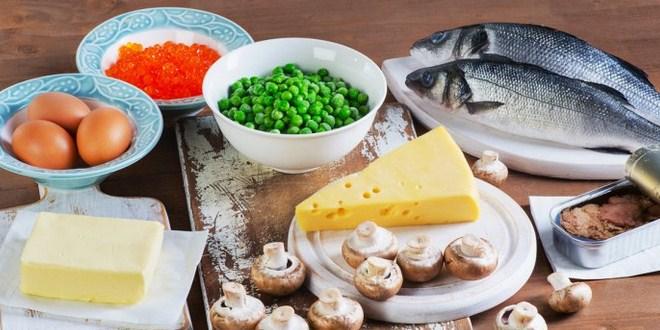 Ilustrasi makanan kaya kalsium