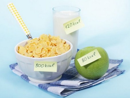 Ilustrasi menghitung asupan kalori
