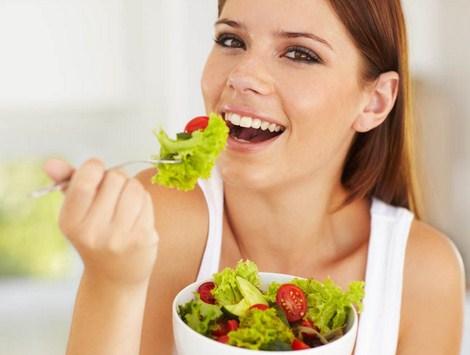 Makan sayur dan buah