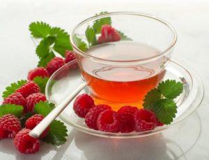 Teh daun rasberry